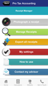 Receipt management system
